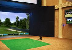 如何在家里安装室内高尔夫模拟器?
